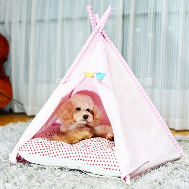 Tent autumn winter warm nest house dog pet tent house pet play house teepee tent with & Tent autumn winter warm nest house dog pet tent house pet play ...