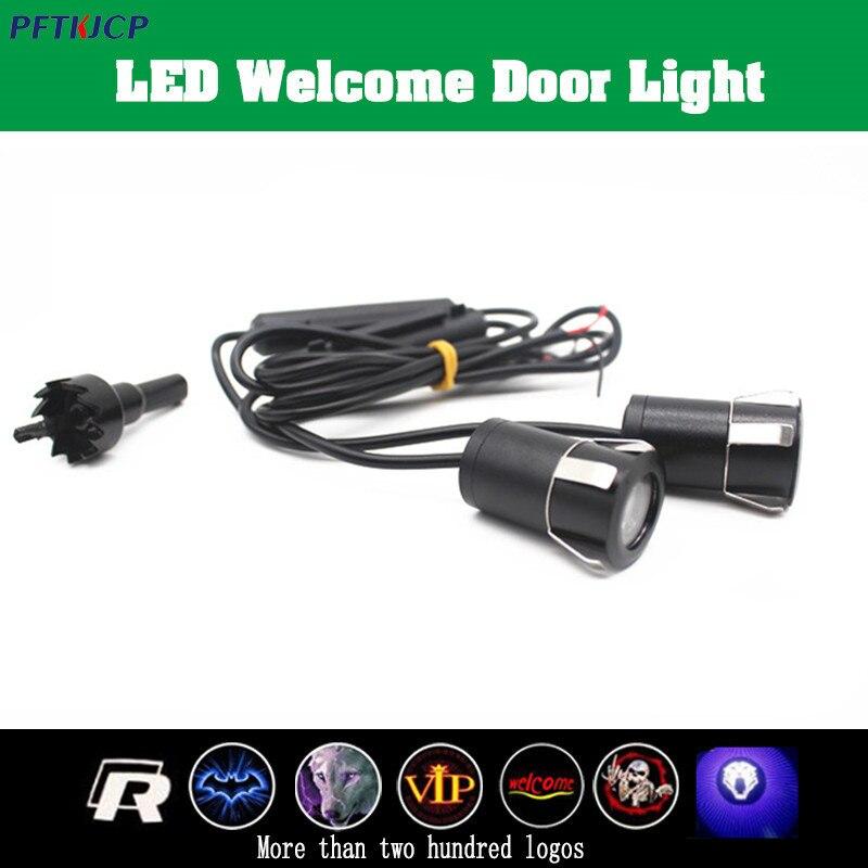 2pcs car laser projector Logo Ghost Shadow Light For kia k2 k3 k5 sportage rio soul spectra LED Lamp Atmosphere lamp цена