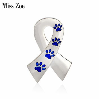 Miss Zoe Scarf Shaped with Dog Paws Cat Kitten Brooch Pins for Sweater Pin Badges Gift Jewelry for Dog Owner Women Girl Kids cat jewelry Cat Jewelry-Top 10 Cat Jewelry For 2018 HTB1Yxo1RVXXXXb aXXXq6xXFXXXQ