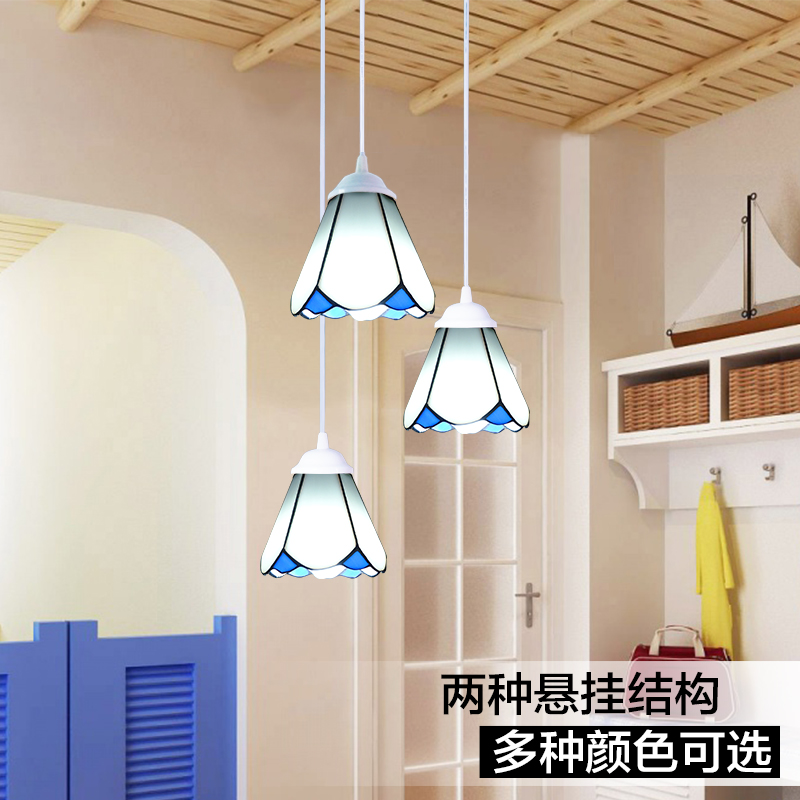 The European classical style restaurant chandelier stairs bedroom balcony 3 entrance Glass ChandelierThe European classical style restaurant chandelier stairs bedroom balcony 3 entrance Glass Chandelier