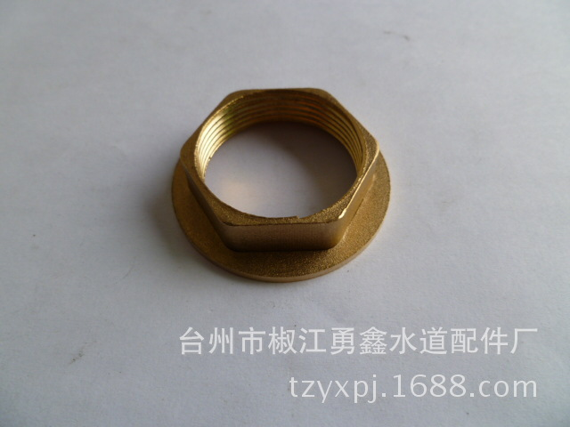 Vidric Faucet Mounting And Fixing Accessories Copper Nut Copper M32*1.5 Easy To Install Connector