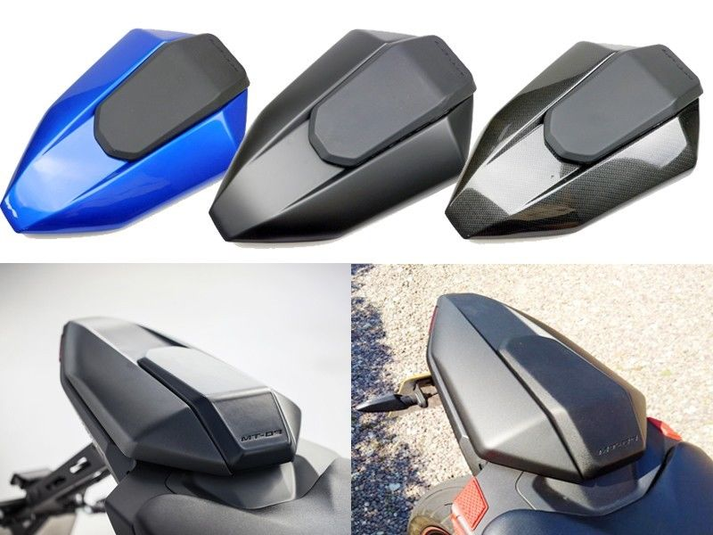 4 Colors Motorcycle Rear Seat Cowl Cover Painted For 2013-2016 Yamaha FZ-07 MT-07 2014 2015 MT07 FZ07 FZ07 FZ 07 13-16 14 15 motoo new rear seat pillion passenger grab high quality rear grab bars rail handle for yamaha mt07 fz07 mt 07 fz 07 2014 16