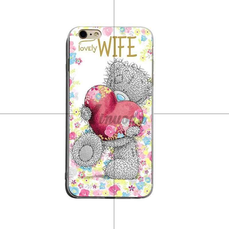 Yinuoda Tatty Teddy Me Om U Luxe TPU Rubber Telefoon Case cover Voor iPhone X XS XR XSMax 8 8 plus 7 7 plus 6 s 6 sPlus