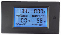 DC 6 5 100V 100A 4 IN1 Digital Display LCD Screen Voltage Current Power Energy Voltmeter