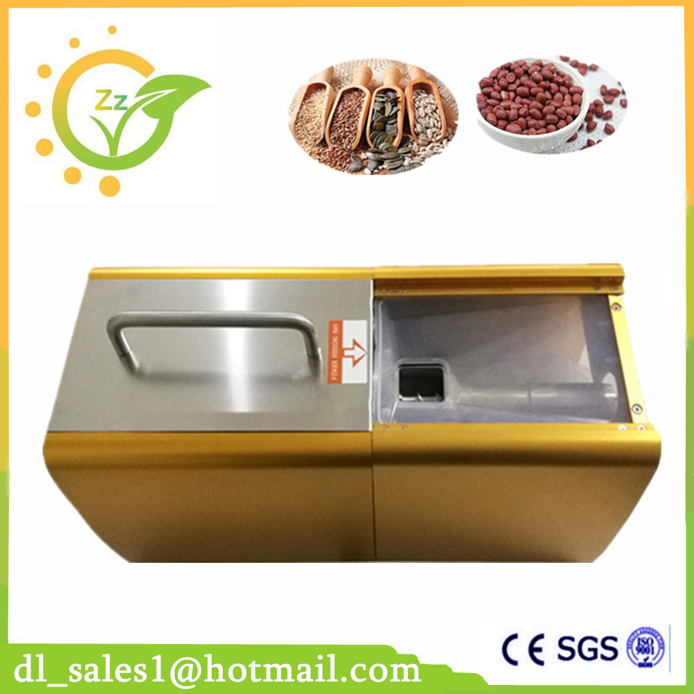 New Design Automatic Coconut Oil Making Machine Small Home Seeds Oil Press Machine 220V/110V For Sale