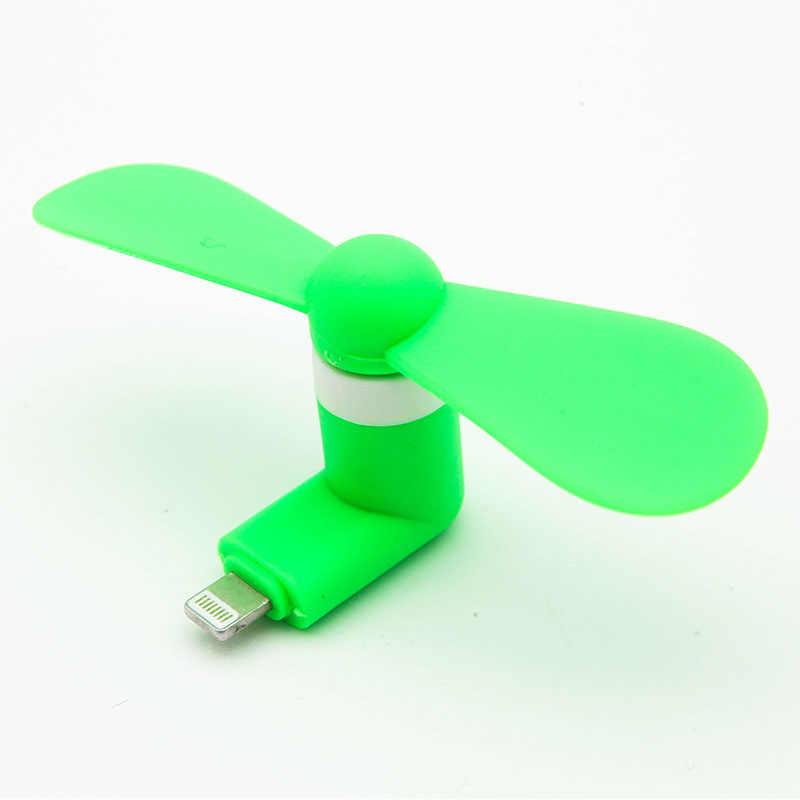Mini Tragbare Kühlen Micro USB Fan 5v 1w Handy USB Gadget Fans Tester Für iphone 5 5s 5c se 6 6s 7 plus 8