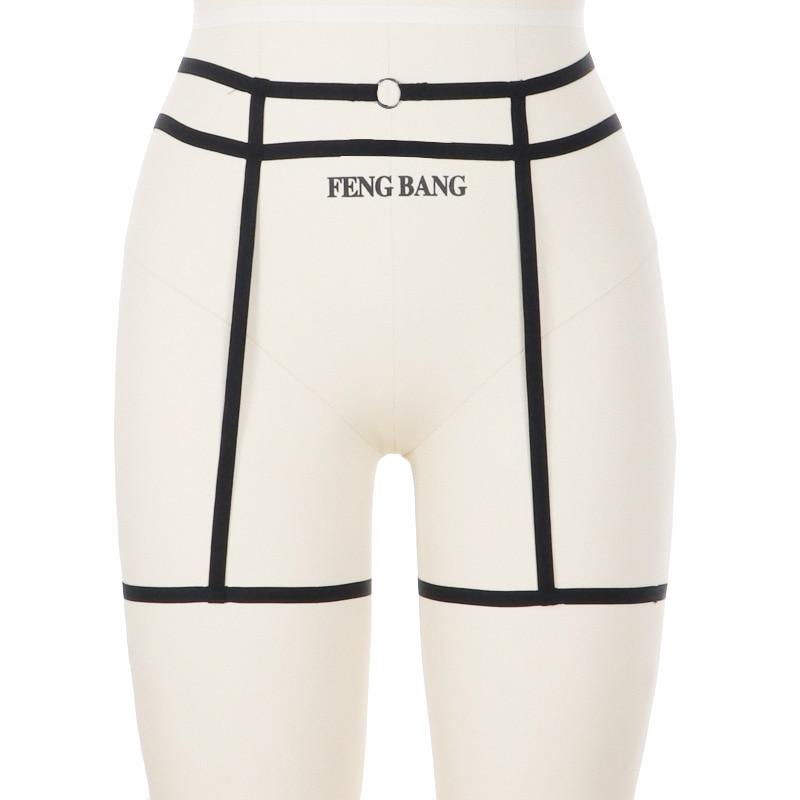 5eb9757c267 Women Sexy Leg Garter Belt Hollow Garter Belt Suspender Strap Underwear  Strap Leg Garter Belt Goth Elastic Cage Body Harnes