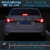 Car Styling LED Tail Lamp For Jetta Tail Lights For VW Jetta Led Tail Light Mk6
