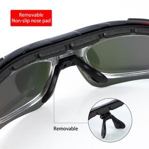 Image 2 - WEST BIKING Polarized Cycling Glasses Anti fog Sunglasses Sport Bicycle Glasses With Mypia Frame MTB Bike Goggles Eyewear
