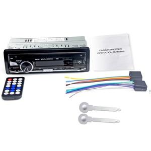 Image 5 - HEVXM 7003 Kleur Licht MP3 Speler Radio Auto MP3 Speler 12 v BT Auto Stereo Audio In dash Enkele 1 Din Aux Input