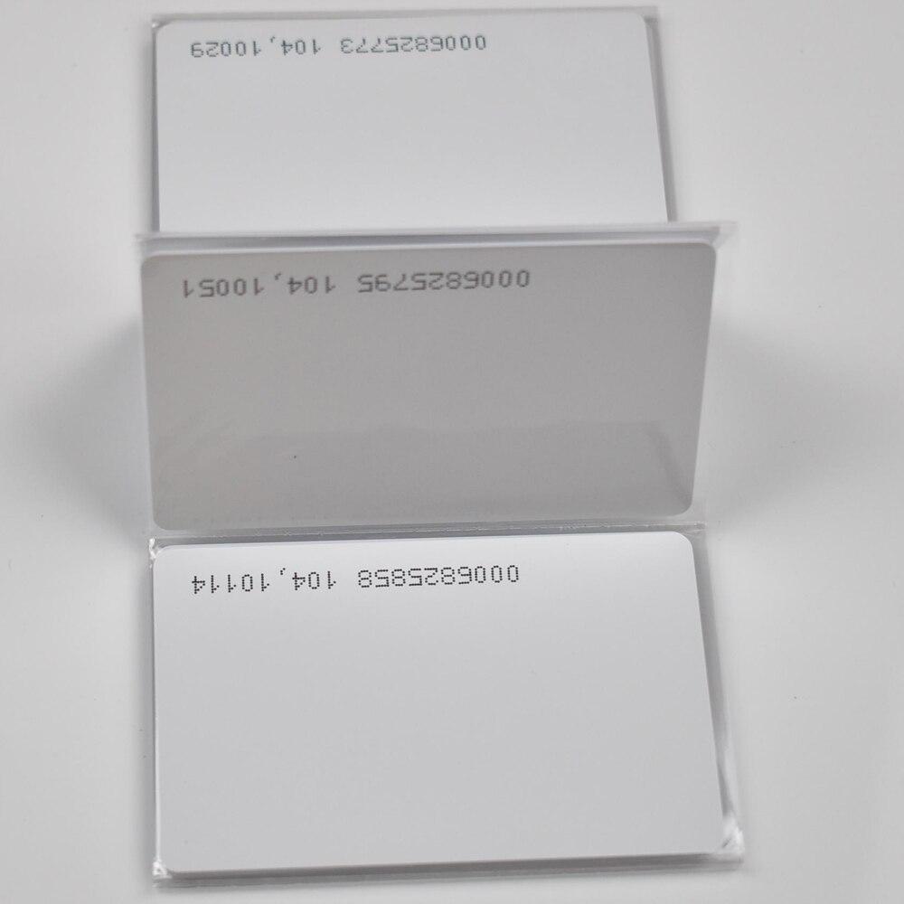 RFID 125 кГц карта EM4100 TK4100 смарт карта ID ПВХ Карта подходит для контроля доступа посещаемость времени|Карты контроля доступа|   | АлиЭкспресс