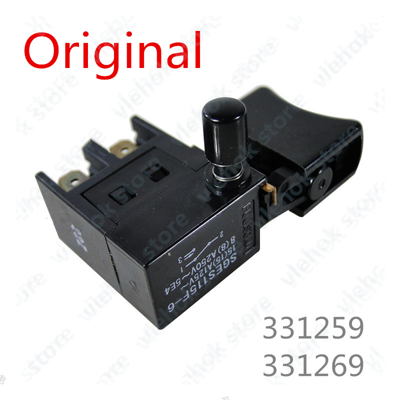 Switch For HITACHI 331259 331269 C2093094 C7SS C6SS  Power Tool Accessories Electric Tools Part