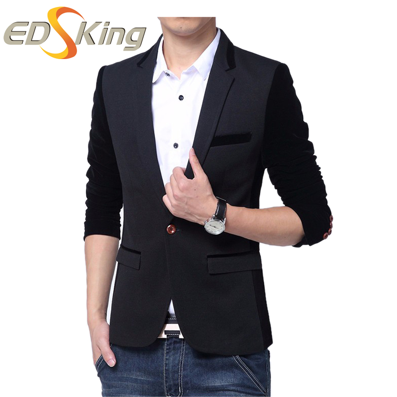 Men Slim Fit Blazers Suit Jacket Mens Designs Style