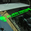 Cool Power Alien Visitor ET Fluorescent Reflective Front Windshield Car Auto Modified Decal Sticker Exterior New Car-Styling
