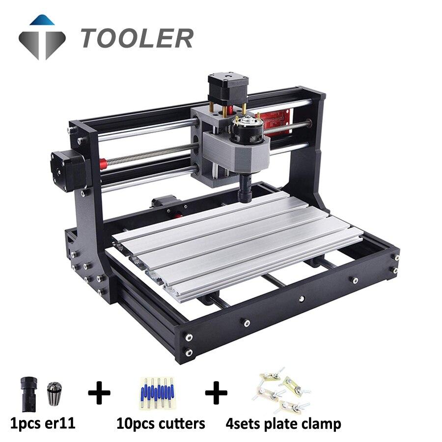 CNC 3018 PRO CNC Machine GRBL contrôle CNC fraiseuse bricolage CNC Machine de gravure CNC graveur CNC bois routeur CNC 3018PRO