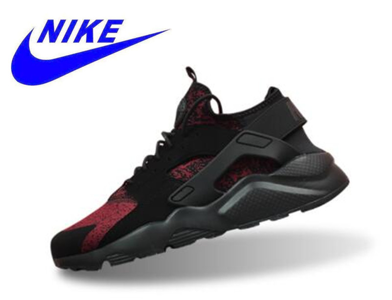 e1e14858c6452 Original New Arrival Official Nike Air Huarache Run Ultra Men's Black Red Running  Shoes Sneakers 753889 994 40 44.5-in Running Shoes from Sports ...