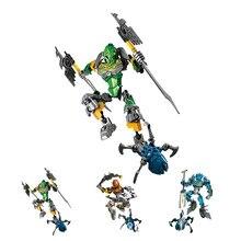 купить XSZ 707-1 BionicleMask of Light 70784 Children's Master Of Jungle Bionicle Building Block Compatible With Bionicle Toys по цене 570.22 рублей