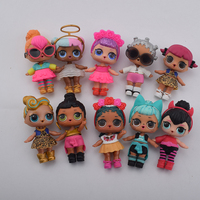 Plastic Doll Series 2 Dress Up Doll With Clothes Accessories Bottle Without Ball