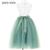 65 cm mujeres de la falda de tulle de la falda del tutú de tul falda de tul falda de novia dama de honor wedding dress underskirt petticoat bsq002 g