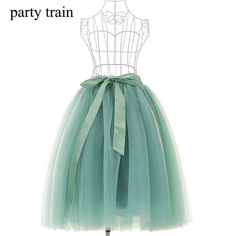 65cm Spring Skirt Women Tulle Skirt TUTU Tulle Skirt Fashion Wedding ...