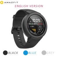 [Английская версия] Huami Amazfit грани часы Smart 3 Спортивные часы Телефонный звонок gps Smartwatch IP68 5 дней автономной работы Телефонный звонок S