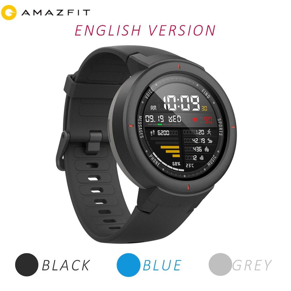 [English Version]Huami Amazfit Verge Watch Smart 3 Sport Watch Phone Call GPS Smartwatch IP68 5-DAY BATTERY LIFE PHONE CALLS