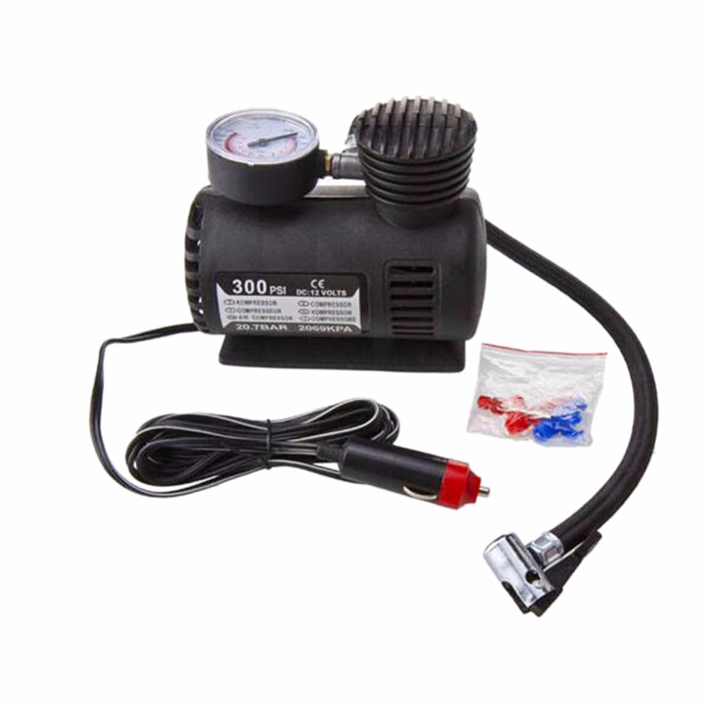 Car Emergency Equipment 12V Inflator Air <font><b>Pump</b></font> Portable Tyres Air Charger for Car Automobile Motorcycle Bicycle <font><b>Battery</b></font> Car