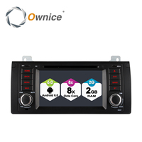4G SIM LTE Android 6.0 Octa 8 Core 1024*600 Auto DVD GPS Radio stereo Voor BMW E53 android E39 X5 wifi GPS USB 2 GB RAM 32 GB ROM