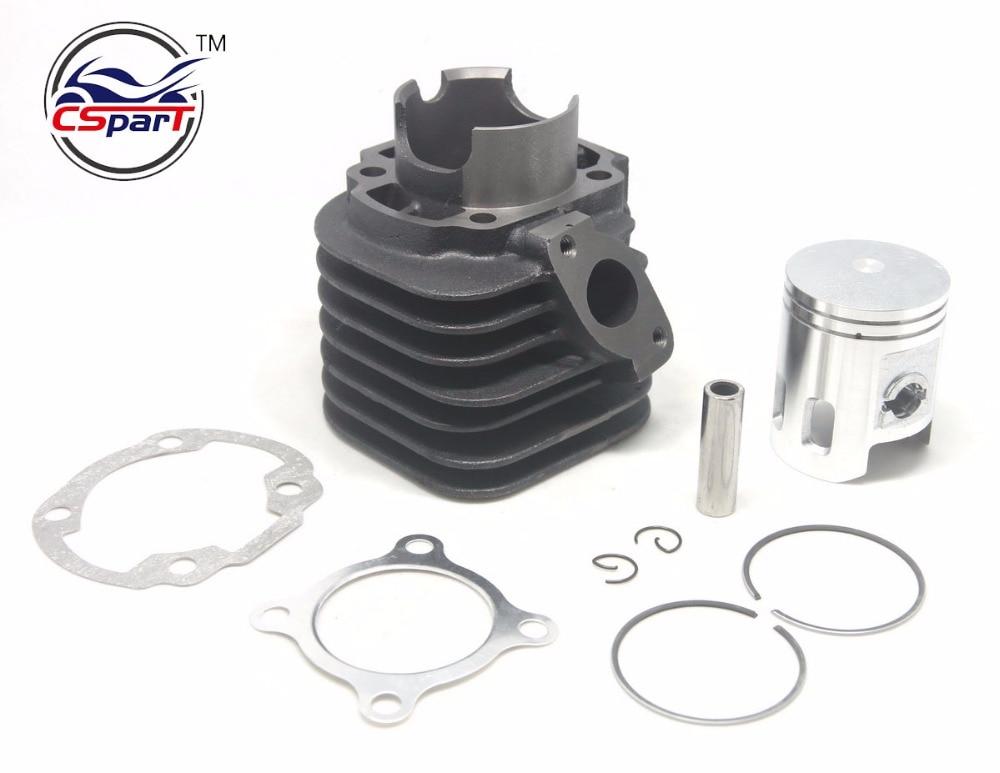 52mm Cylinder Piston Ring Gasket Kit  JOG 100CC 1P52QMG Kazuma ATV Buggy Scooter Parts