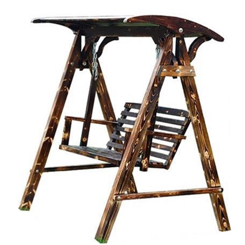 US $719.06 32% OFF Balkon Meble Ogrodowe Exterieur Tuinset Tuinmeubels  Mueble Wooden Furniture Wood Vintage Salon De Jardin Retro Garden Swing-in  ...