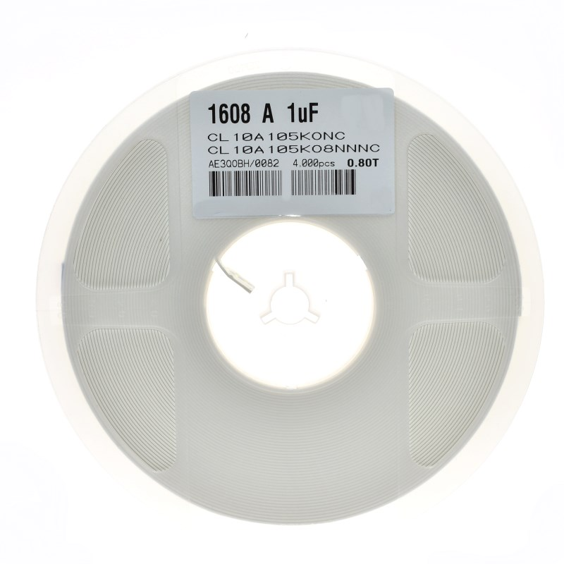 100PCS 1nF 10nF 100nF 0.1uF 1uF <font><b>10uF</b></font> 0603 X7R Error 10% <font><b>SMD</b></font> Thick Film Chip Multilayer Ceramic Capacitor 102 103 104 105 106 image