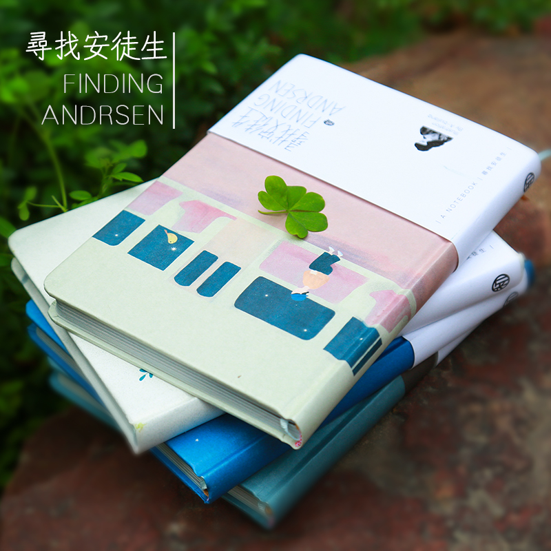 OUR-STORY-BEGINS Find Andersen Series Notebook A5 Cover Full Color Hard Page Illustrator Notebook Notepad Diary 1PCS