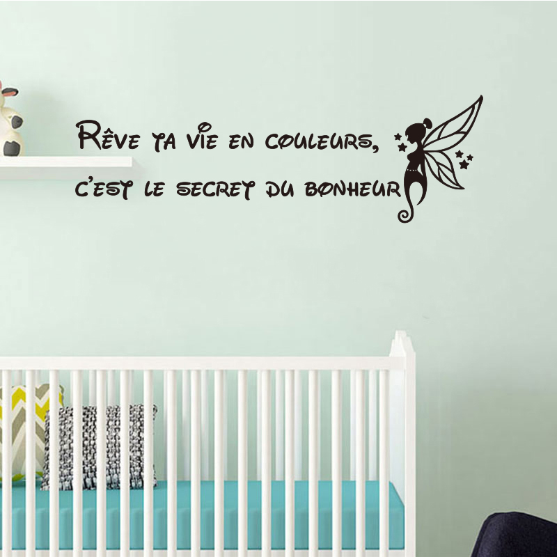 Art Quote Wall Sticker Decal Mural Kids