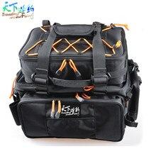 High Quality Fihing Bags Lure Bag 48*29*22cm Large Capacity Fishing Backpack Bolsa De Pesca Fishing Tackle Bag Sac De Peche