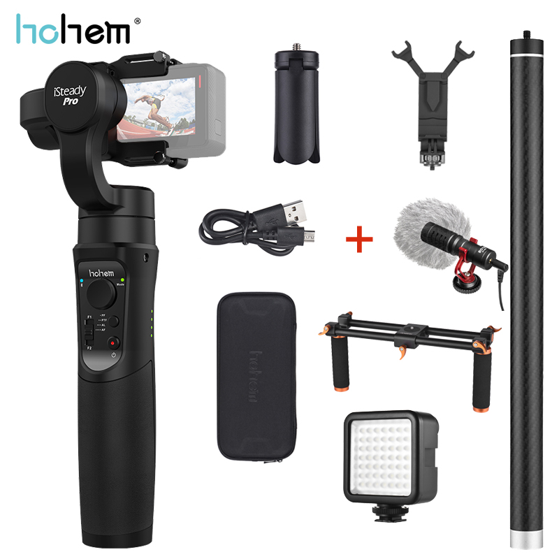 Hohem iSteady Pro 2 Gimbal Stabilizer 3 Axis Handheld for GoPro Hero 7 6 5 4