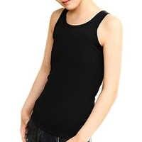 Ceinture de poitrine coton gilet débardeur pour Tomboy lesbienne (peut être porté seul) femmes lesbien Slim Fit court gilet poitrine liant hauts