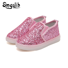 Kids Shoes Girls Led Light Children Glowing Luminous Sneakers Toddle Casual Party Flat Shoes Sneakers With Flashing Lights tutuyu glowing sneakers kids luminous sneakers colorful boys shoes led lights children shoes casual flat girls boy shoes lx 887
