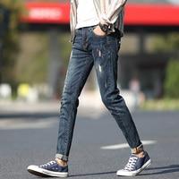 New Arrive 2017 Fashion Original Japanese Leisure Bound Feet Pants Male Trousers Skinny Brand Famous Men