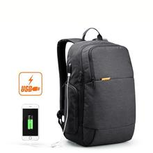 Kingsons Waterproof Anti Theft Casual Laptop Bag 15.6 Inch Waterproof Laptop Backpack External Usb Charge Notebook Backpack