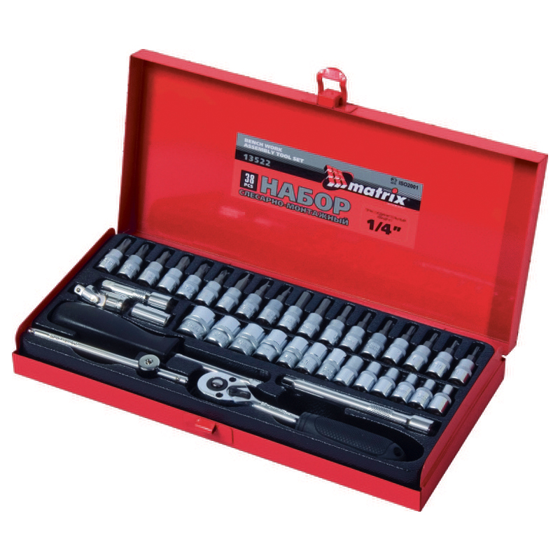 Hand tool set MATRIX 13522