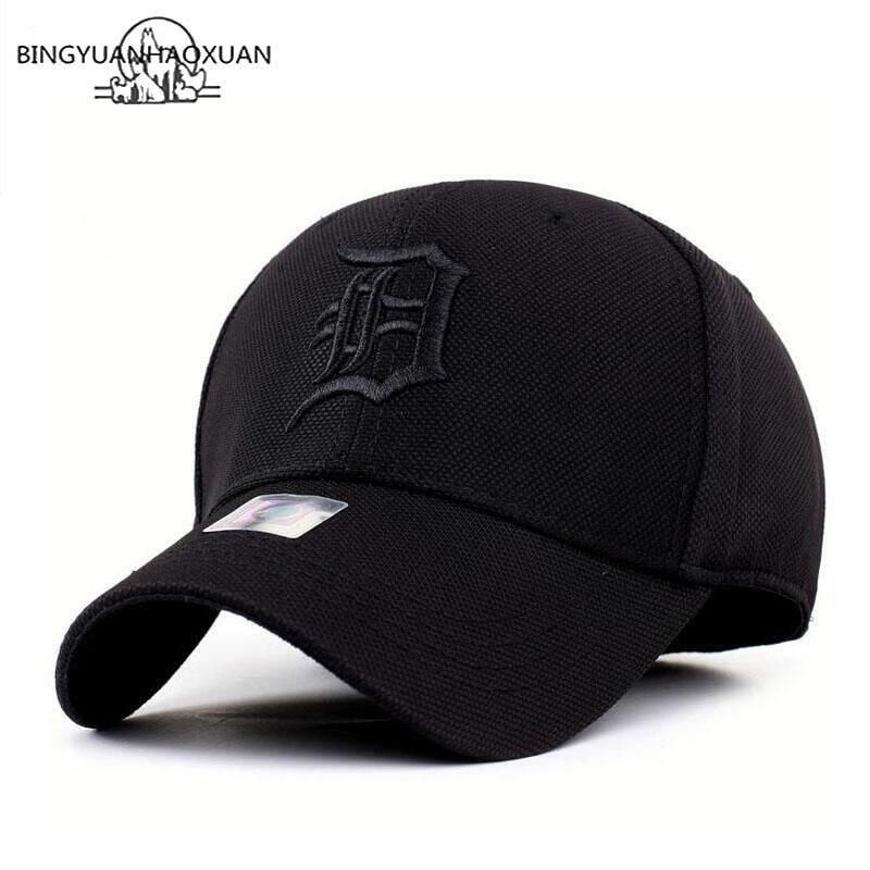 BINGYUANHAOXUAN Fast Drying Snapback Men Full Cap Cap Baseball Running Cap Sun Visor Bone Male Cap Gorras 2019 New Hat