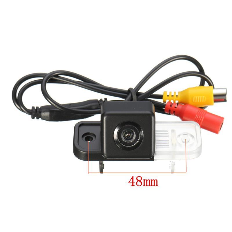 все цены на Original Car Camera For Mercedes Benz C-Class W203 W211 CLS W219 HD Wide Lens Angle CCD Night Vision Rear View Camera онлайн
