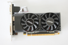 New Graphics card for MSI N750TI-2GD5T LP GTX750 Ti 2G DDR5 video cards to send short knife baffle free shipping