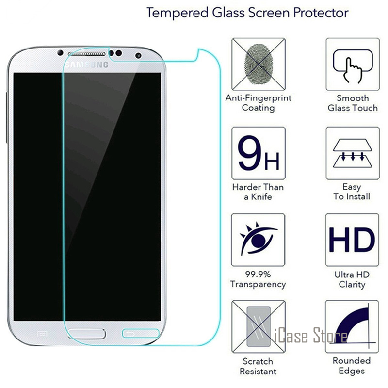 Crystal Clear Anti-Bubble HD 2.5D Tempered Glass Screen Protector Film for Samsung Galaxy Grand Prime SM-G530A Cricket//AT/&T