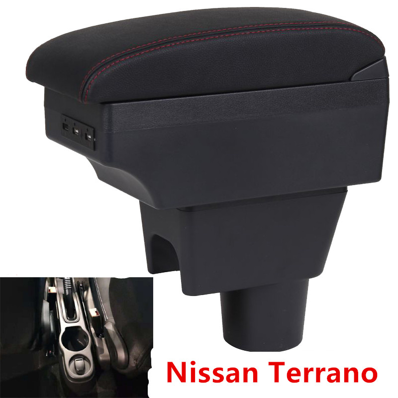 For Nissan Terrano Armrest Box Terrano 3 Universal Car Central Armrest Storage Box Modification Accessories