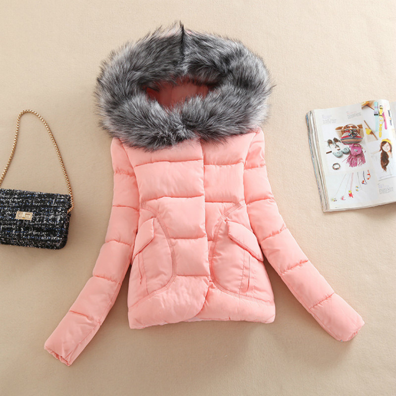 2017 New Autumn Winter Women Coat Fashion Female Down Jacket Women Parkas Casual Jackets Inverno Parka