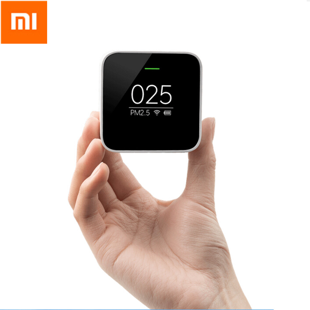 Original Xiaomi PM2 5 Detector Sensor High precision Air Quality Remote Monitoring OLED Screen For Xiaomi