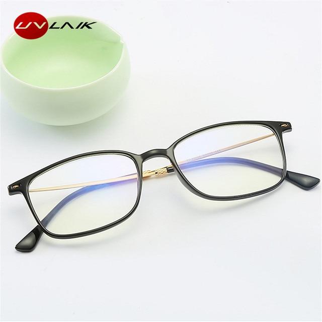 UVLAIK Reading Glasses Anti Blue Ray Ultralight HD Diopter Blue Light Blocking Presbyopic Glasses Comfort Fit Men Women Reader