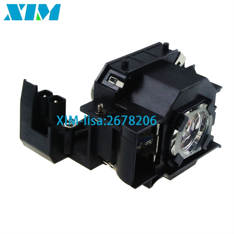 ELPLP33 Replacement Projector Lamp with housing for Epson EMP S3 EMP S3L EMP TWD3 Moviemate 25 Moviemate 30S Moviemate 30S Plus xim elplp33 bulbs projector bare lamp for epson emp rwd1 emp s3 emp s3l emp tw20 emp tw20h