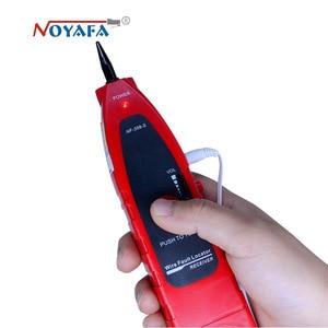 Image 4 - Ağ kablosu test cihazı kablo izci RJ45 kablo test cihazı NF 388 İngilizce sürüm ses kablosu test cihazı kırmızı renk NF_388